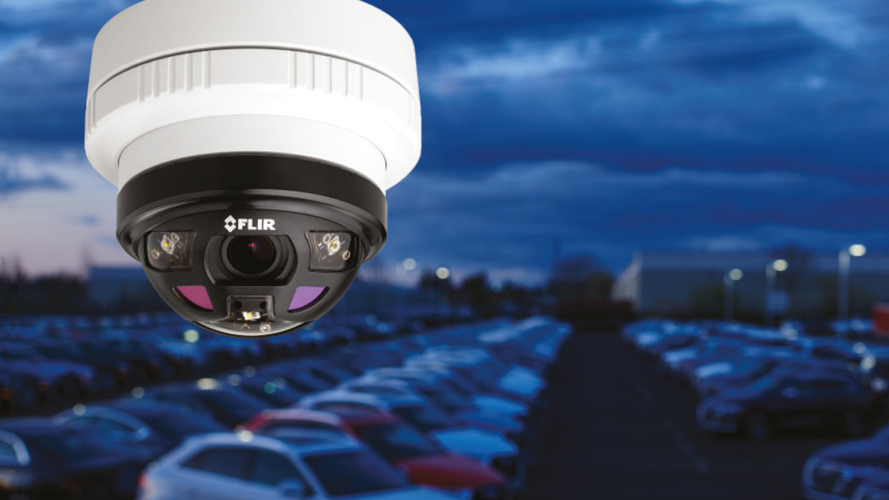 All in one! Die neue Saros Dome-Kamera von Flir